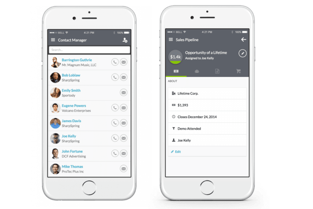 Marketing Automation Mobile App