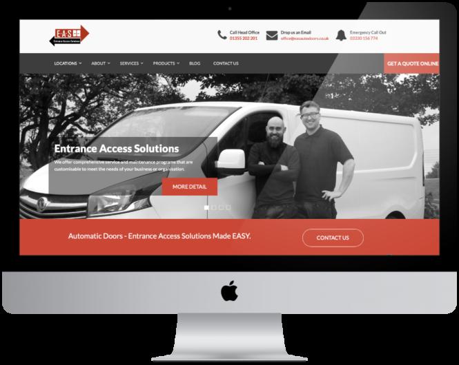 Web Development Entrance Access Solutions