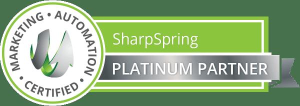 sharpspring ribbon platinum