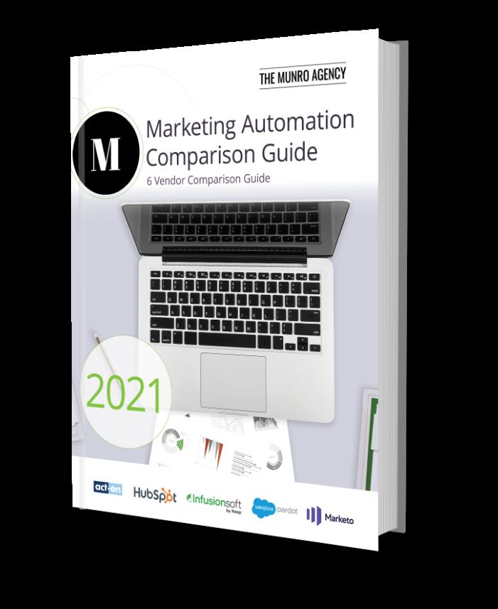 Marketing Automation Comparison Guide Book Cover
